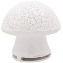 本手 TK12 音箱音响便携七彩裂纹发光个性蘑菇 白色产品图片主图