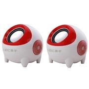 本手 CX7 音箱音响便携套装组合小对箱 白红