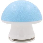 本手 TK12 音箱音响便携七彩裂纹发光个性蘑菇 蓝色