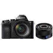 索尼  a7/α7/ILCE-7K 全画幅微单数码相机/单电 WiFi分享 24-70+FE35双镜套装