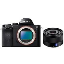 索尼  a7/α7/ILCE-7K 全画幅微单数码相机/单电 WiFi分享 a7机身+FE35mm产品图片主图