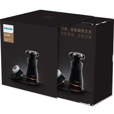 飞利浦 S8860/62 复古多功能电动剃须刀礼盒装 V 型切剃系统 无线充电产品图片5