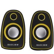 本手 Q5 音箱音响便携低音炮套装组合小对箱 黄色
