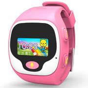 优彼(ubbie) 语音智慧星电话手表(粉色) 儿童智能语音呼叫360度关爱小天才 学生小孩智能问答通话手环手机