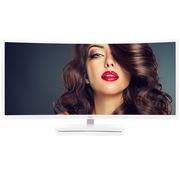 冠捷 C3583FQ/WS 35英寸VA屏广视角 21:9宽屏 100%sRGB色域 144Hz刷新率 电竞曲面显示器