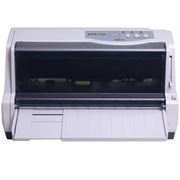 富士通  DPK750 平推式针式打印机 快递单 税控票据出库单连打
