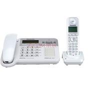 松下 KX-TG70CN-1 无绳电话机子母机 炫晶白