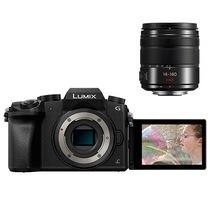 松下 LUMIX DMC-G7 微型单电套机 黑色(14-140mm f/3.5-5.6 变焦镜头)产品图片主图
