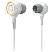 飞利浦 SHE6000WT 有线 入耳式 音质好 大品牌 音乐手机耳机 低音好 白色