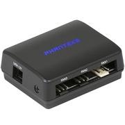 追风者 PH-PWHUB_01电脑PWM自动风扇只能温控调速器/支持30W功率/可同步控制达11x(3pin&4pin)风扇