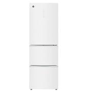 晶弘 BCD-318WPTG318升变频全风冷无霜三门冰箱玻璃面板(白色)