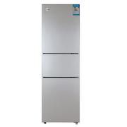 晶弘 BCD-216TCL216升三门冰箱节能静音快速制冷一体打U箱体(太空银)
