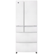 晶弘 BCD-461WPQG461升变频全风冷无霜多门冰箱玻璃面板瞬冷冻技术-5度不结冰(白色)