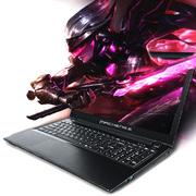 机械师 M511 15.6英寸游戏本950M独显超薄手提笔记本电脑白条 黑色 M511-i5/8G/GTX950M登峰版