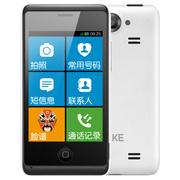 21克 MC001S 白色 移动联通2G 简单老人手机