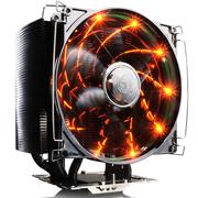 超频三 风冻黑金版 智能温控 全平台CPU散热器(5根8mm热管/12cm静音风扇)