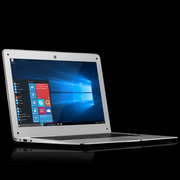 TaiAiCH 737S 笔记本电脑 四核蓝牙 金属 WiFi 13.3英寸轻薄高清双喇叭 炫光银四核2GB内存 64GB存储硬盘