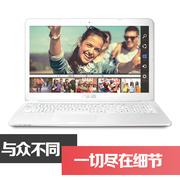 华硕 E502MA2940 15.6英寸彩壳笔记本电脑 小彩本 四核 便携办公 白色