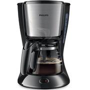 飞利浦 HD7435/20 咖啡机 玻璃壶 黑色和金属色