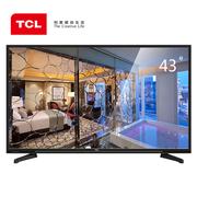 TCL 43E10 43英寸 内置WiFi 在线影院互联网LED液晶电视(黑色)