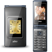 波导 V9 移动联通2G翻盖老人手机 双卡双待 铁灰