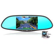 神行者 F50专车专用智能后视镜声控导航行车记录仪云电子狗一体机 1080P高清 蓝牙免提 倒车后视