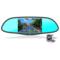 神行者 F50专车专用智能后视镜声控导航行车记录仪云电子狗一体机 1080P高清 蓝牙免提 倒车后视产品图片1