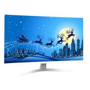 明基 VR32A0 31.5英寸纯白曲面 3000R曲率 液晶LED显示器