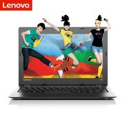 联想 Ideapad 100S 14.0英寸轻薄笔记本电脑 N3050 4G 128G固态 WIN10 皓月银