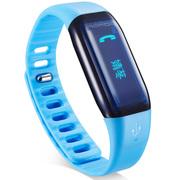 乐心 Mambo 来电智能提醒 来电震动 来电显示 蓝牙运动手环 微信朋友圈运动PK 蓝色腕带版