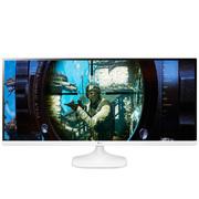 LG 34UM56-W 34英寸21:9超宽屏IPS硬屏 护眼不闪滤蓝光LED背光液晶显示器