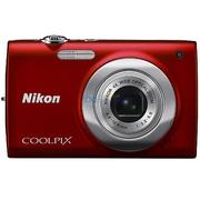 尼康  COOLPIX S2500 便携数码相机 红色(1200万像素 2.7寸屏 4倍光变)