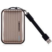 摩米士 iPower GO mini 商务版旅行箱移动电源/充电宝 8400毫安 潮流金