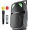 索爱 SA-T25便携式移动拉杆户外音响 大功率蓝牙电瓶插卡广场舞音箱产品图片1