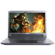 神舟  战神G6-SL7S2 17.3英寸88必发娱乐笔记本(i7-6700HQ 8G 256G SSD GTX960M 2G独显 1080P)黑色