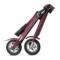 LEHE 标准版 -K2-紫红色 智能代步车 成人便携迷你可折叠锂电电动车 代步车 36V 35公里产品图片4