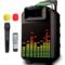 索爱 SA-T20 便携式移动拉杆户外音响 大功率电瓶插卡广场舞音箱产品图片1