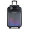 索爱 SA-T22 便携式移动拉杆户外音响 大功率蓝牙电瓶插卡广场舞音箱(黑色)产品图片3