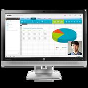 惠普 EliteDisplay E240c 23.8 英寸视频会议显示器(能源之星)