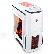 大水牛 优胜美地2 侧透版 白色 MATX游戏机箱(原生U3/全兼容SSD/大侧透/水冷)