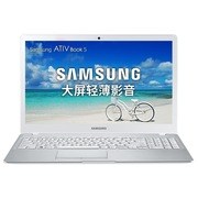 三星 500R5L-Y01 15.6英寸超薄笔记本(i7-6500U 8G 500+128G固态硬盘2G独显全高清屏Win10)白