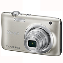 尼康 Coolpix A10  银色产品图片主图