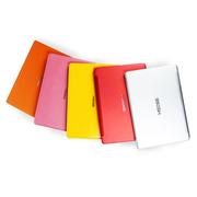 神舟 优雅U5-I58256R1 14英寸笔记本(I5-5200U 8G 256GB HD5500 1080P)红色