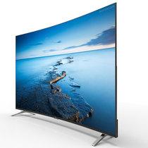 TCL L48P1S-CF 48英寸 2K超高清 纤薄机身曲面屏 安卓智能电视(黑色)产品图片主图