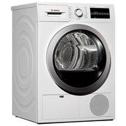 博世  WTG864000W 8公斤进口干衣机 LED触摸宽屏 空气冷凝 原装进口(白色)
