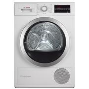 博世  WTW875600W 9公斤进口干衣机 LED触摸宽屏 热泵 原装进口(白色)
