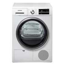 西门子  WT46G4000W 8公斤进口干衣机 LED触摸宽屏 空气冷凝 原装进口(白色)产品图片主图