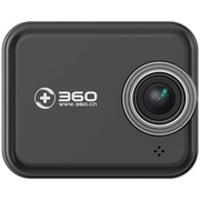 360 行车记录仪尊享版 J501 高清夜视 WIFI连接 智能管理 机卡套装 黑色