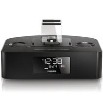 飞利浦 AJ7400/93苹果音箱 音乐底座播放器 4/5/6/ipad双接口 手机蓝牙桌面音响USB充电闹钟收音机产品图片主图