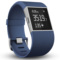 Fitbit Surge 智能乐活手环 GPS全球定位 心率实时检测 多项运动模式 智能手表 蓝色L产品图片1